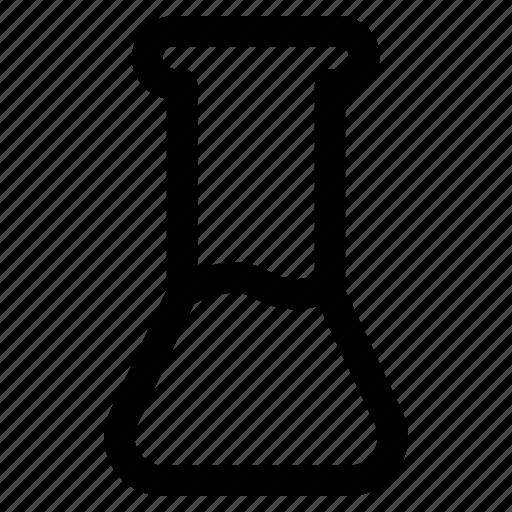 beaker, equipment, laboratory, medical, mixture, science, solution icon