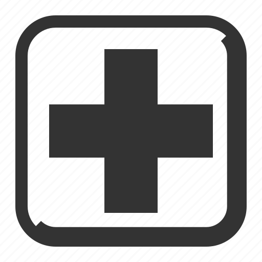 first aid, healthcare, hospital, medical cross icon