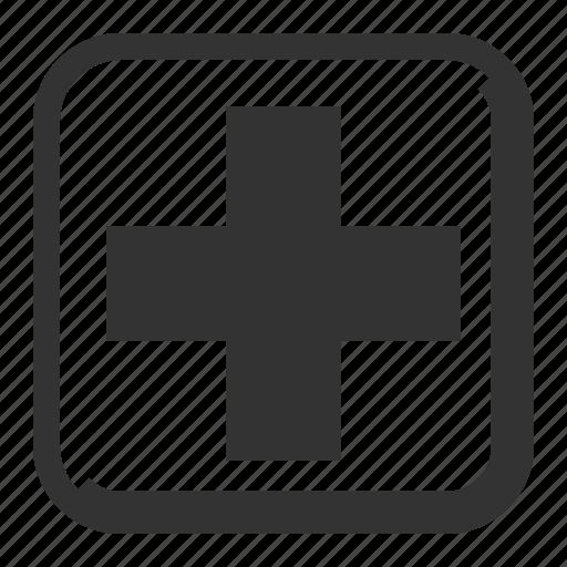first aid, health, healthcare, hospital, medical cross, medicine icon