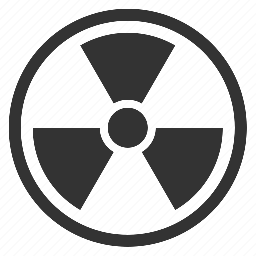 danger, nuclear, radiation, radioactive, risk, toxic icon