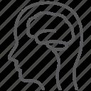 brainstorming, head, intelligence, mind, neurology, neurons, neuroscience icon