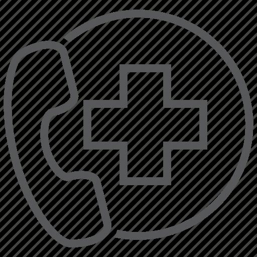 ambulance, consultation, doctor, emergency, hospital icon