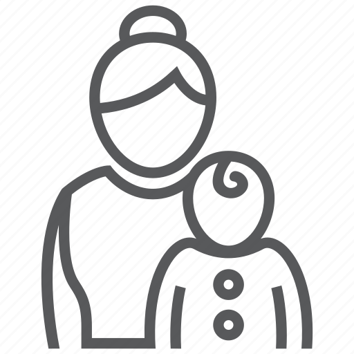 baby, child, infant, kid, mother, pediatrics icon
