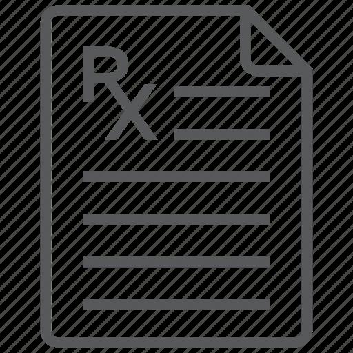 description, medication, medicine, pharmaceutical, pharmacy, prescription icon
