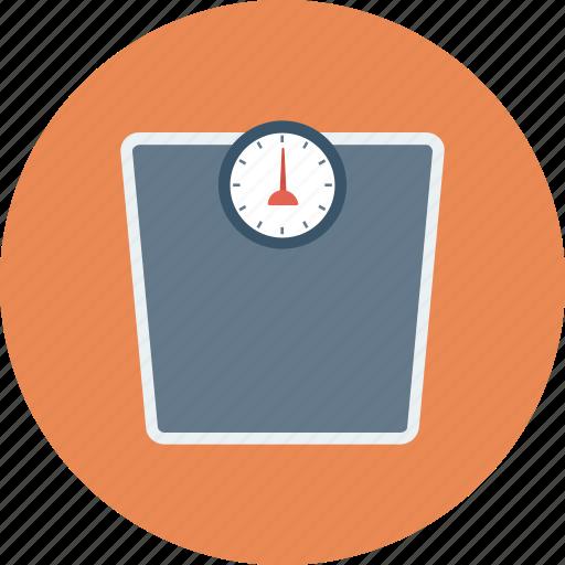 calculator, machine, scale, weighing, weight, weight machine icon icon