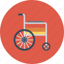 accessibility, disability, disabled, handicap, paralyze, patient, wheelchair icon icon