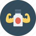 bottle, drugs, health, health care, health clinic, hospital, power icon