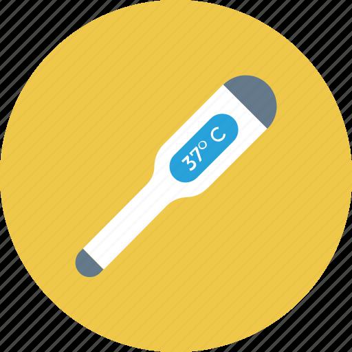 digital, digital thermometer, temperature, thermometer icon icon