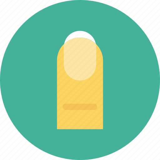 beauty, finger, manicure, nail, woman finger icon icon