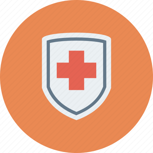 firewall, health, insurance, medical, protection, security, shield icon icon