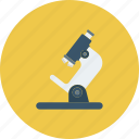 laboratory, medical, microscope, science icon icon