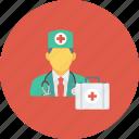 doctor, medical, medical kit, medicine, nurse, physician icon