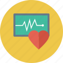 healthcare, heartbeat, pulsation, pulse icon icon