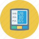 blood pressure operator, bp monitor, bp operator, digital, digital bp gauge, sphygmomanometer icon icon
