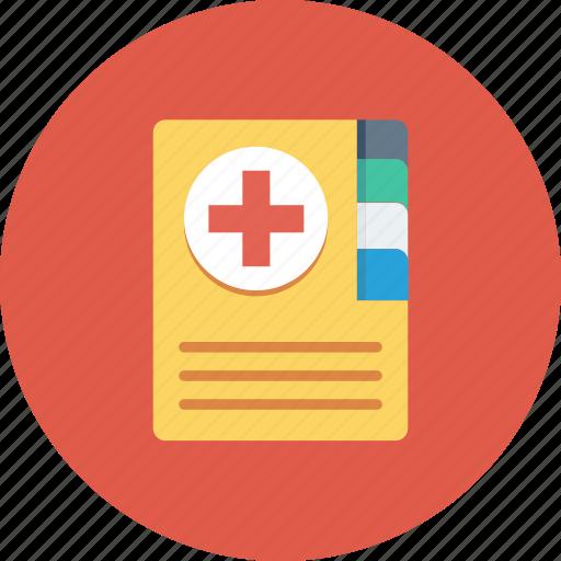 book, health, healthcare, medical, medical book icon icon