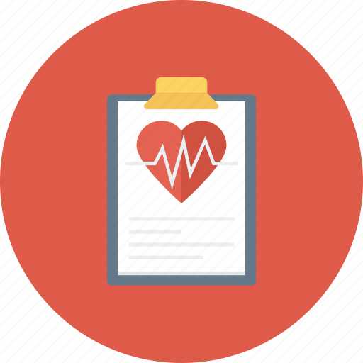 heart health, heart monitor report, medical, medical report icon icon