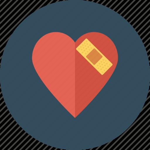 fix, healthcare, heart, injury, medical, medicine, repair icon