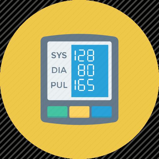 blood pressure operator, bp monitor, bp operator, digital, digital bp gauge, sphygmomanometer icon icon