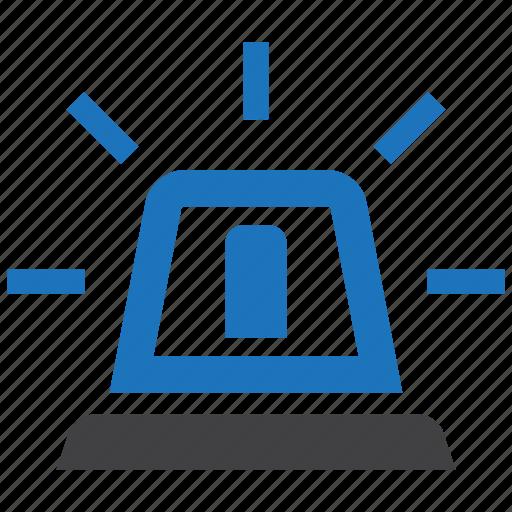 Alarm, ambulance, light, siren icon - Download on Iconfinder