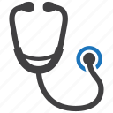 care, doctor, healthcare, phonendoscope, physician, stethoscope icon