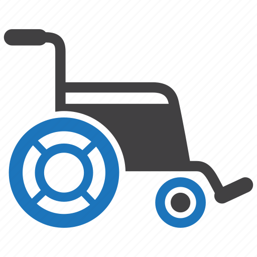 disability, disabled, handicapped, patient, wheelchair icon