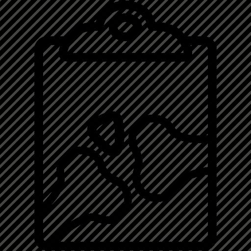 clipboard, diagnosis, doctor, healthcare, medical, prescription, report icon