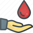 blood, donation icon