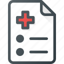 medical, prescription, recepie, rx icon