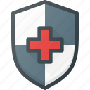 medical, protect, shield icon