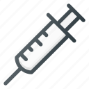 antidote, injection, medicine, syrige