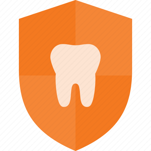 care, dental, protect, shield icon