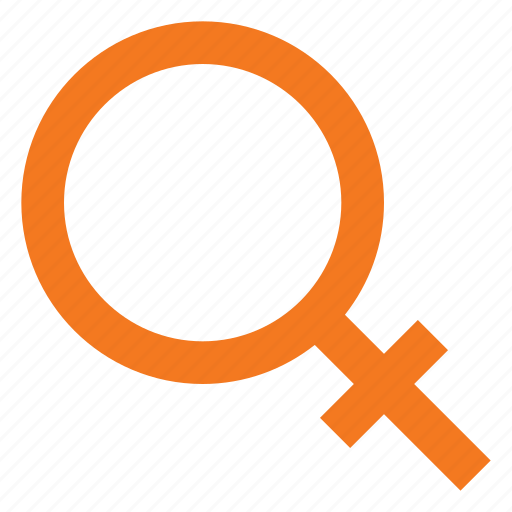 female, sign icon