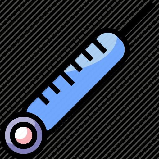 healthcare, medical, temperature, thermometer icon