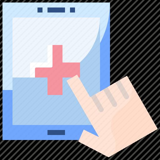 app, healthcare, help, hospital, information, medical icon