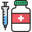 drug, drugs, injection, pill, pills, syringe, vaccine icon