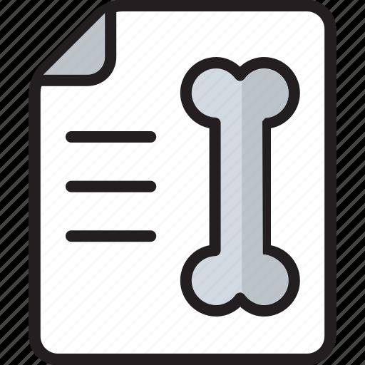Back bone, bone, health, hospital, medical, report, x ray icon - Download on Iconfinder