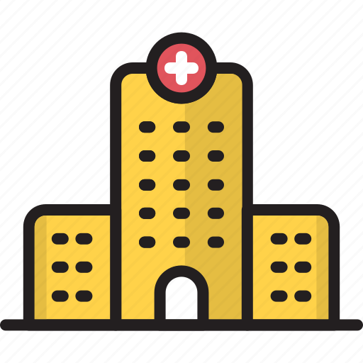 ambulance, building, clinic, cross, healthcare, hospital, medical icon