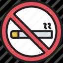 cigarette, nicotine, no cigarette, no smoking, quit smoking, restricted smoking, smoking prohibited