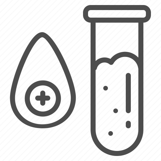 blood, lab, laboratory, medical, research, test, tube icon