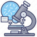 bacteria, bacterium, biology, microscope icon