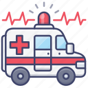 emergency, hospital, vehicle, ambulance