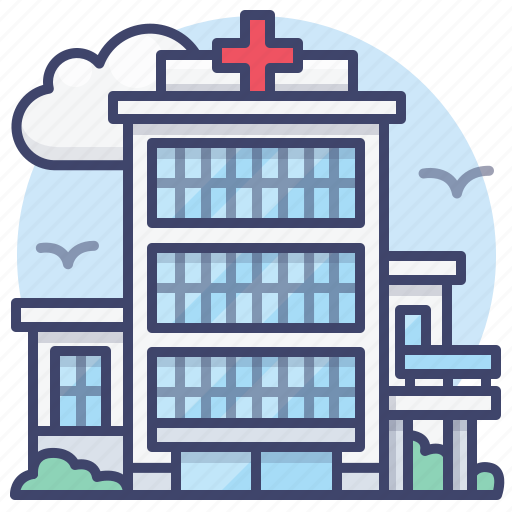 Building, clinic, healthcare, hospital icon - Download on Iconfinder