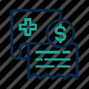 bill, medical, payment