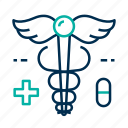 hospital, medical, sign icon