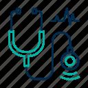 diagnosis, healthcare, stethoscope