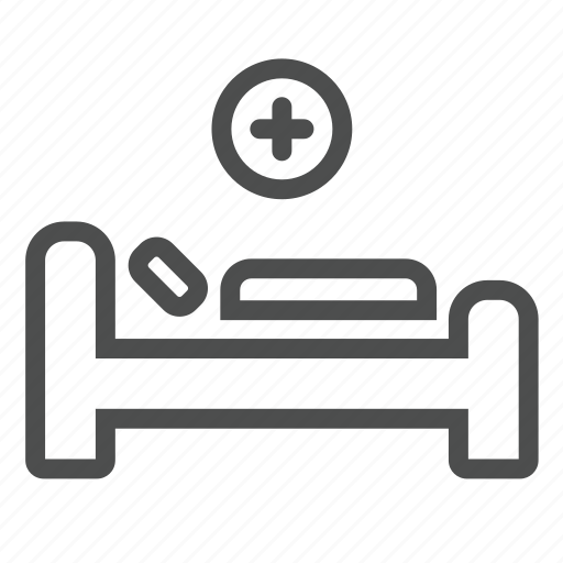 aid, ambulance, bed, care, first, health, hospital icon