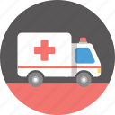 ambulance, care, emergency, hospital, medical, medicine, treatment icon