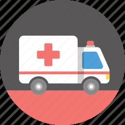 ambulance, care, emergency, hospital, medical, medicine, treatment icon