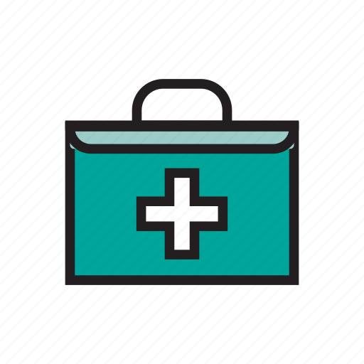 box, first aid kit, hospital, hurt, medical, medicine icon
