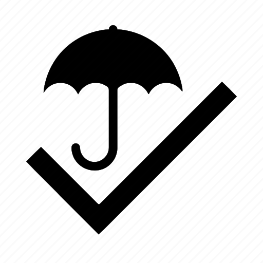 cover, eligibility, insurance, true, umbrella icon